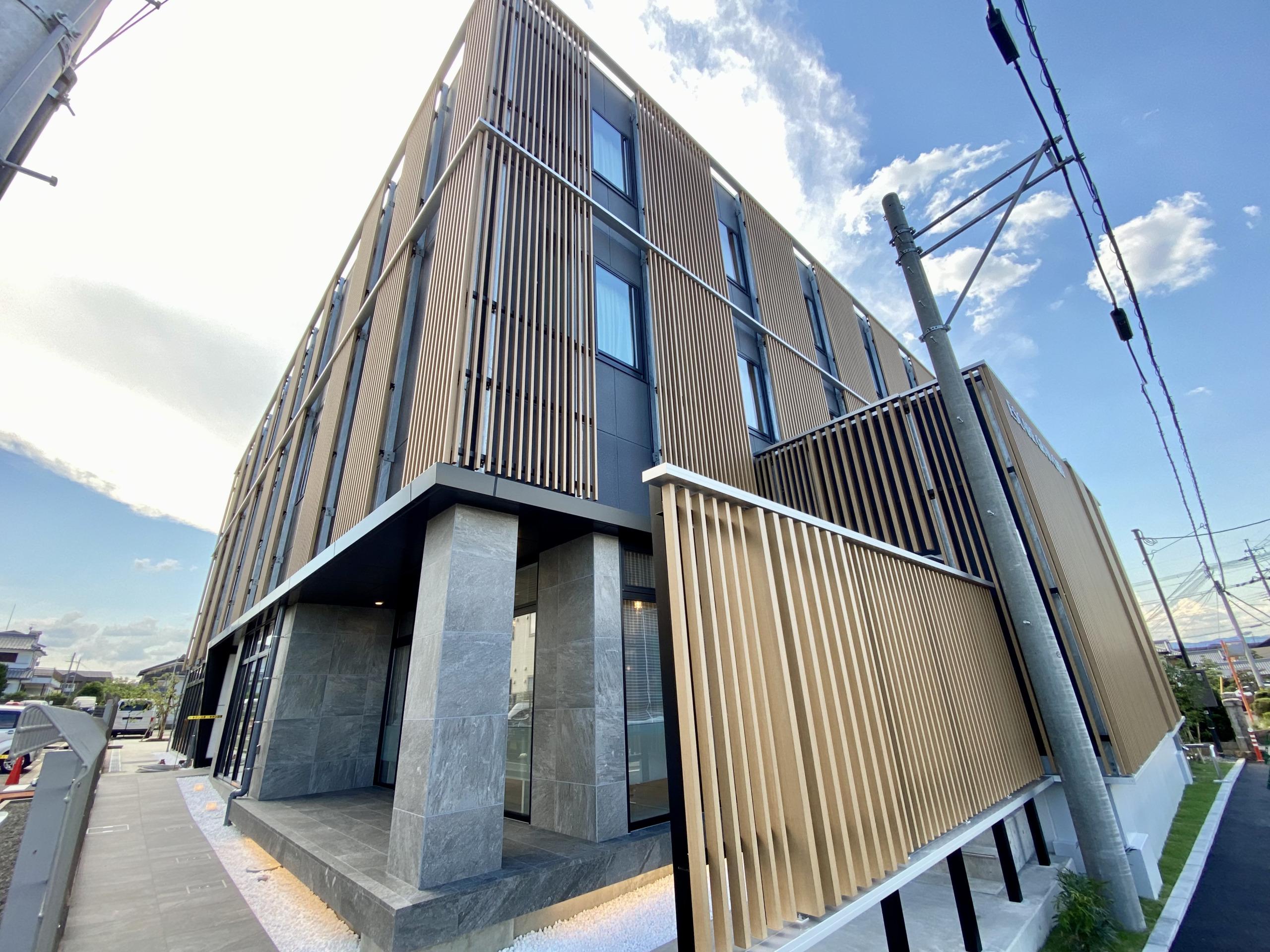 新しいコンセプトの新施設「エスケア グランシェフ草津」が竣工しました。